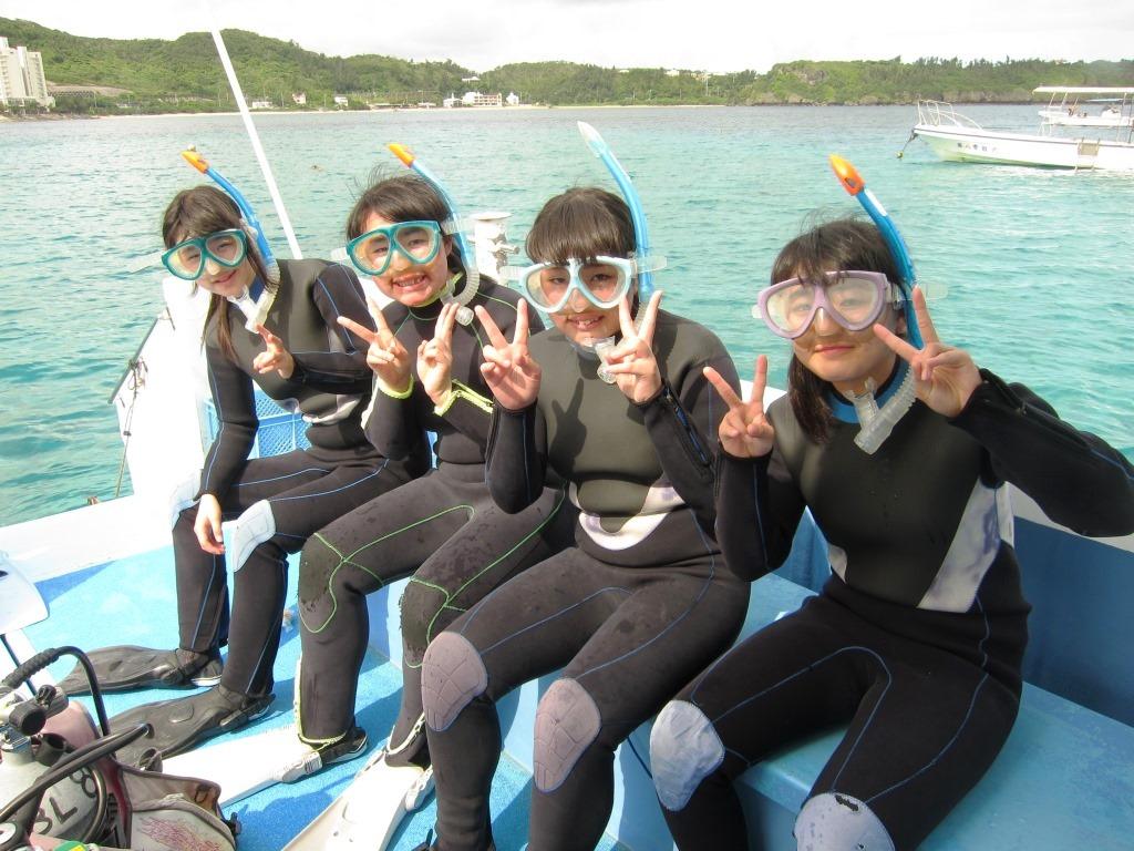 修学旅行シュノーケル沖縄