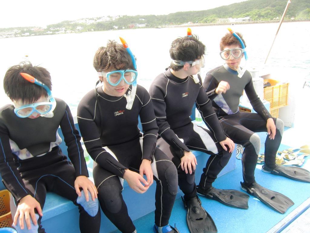 修学旅行スノーケル沖縄