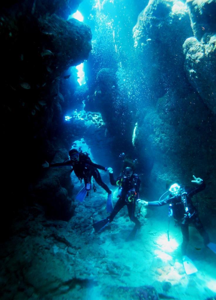瀬底島地形ダイビング|ブルーリーフ
