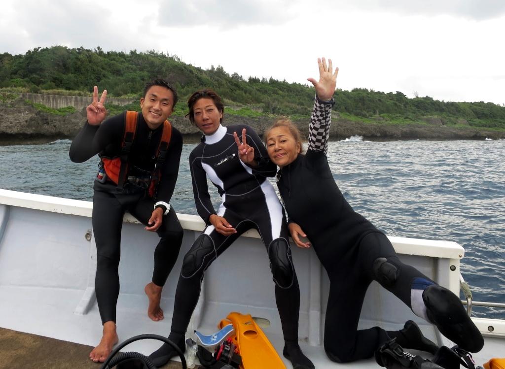 北部遠征ダイビング