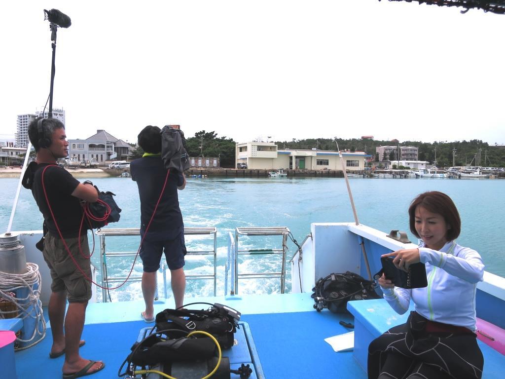 沖縄テレビ取材 ロケ撮影協力